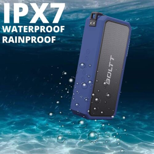 Fire Boltt Xplode 1300 Portable Bluetooth 20W Speaker Monstrous Sound Twin Subwoofers Powerful 3000mAh Battery with 14H Playtime IPX7 Waterproof Blue 2