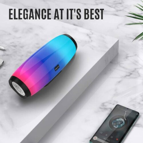 Fire Boltt Xplode 1400 Bluetooth Portable Speaker with Vibrant LightShow 360° Boombastic Surround Sound 10