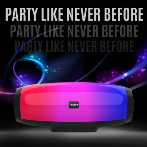 Fire Boltt Xplode 1400 Bluetooth Portable Speaker with Vibrant LightShow 360° Boombastic Surround Sound 9