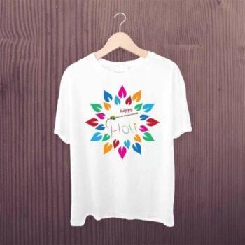 Happy Holi Bansuri Tshirt