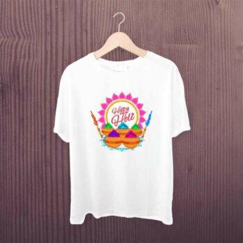 Happy Holi Color Pot Tshirt