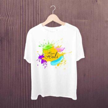 Happy Holi Colorfull Tshirt