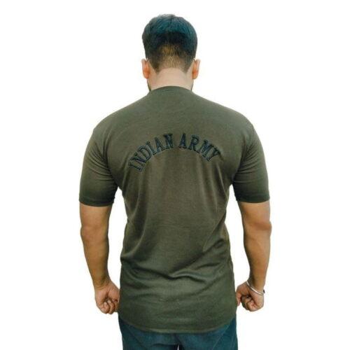 Indian Army Camaouflage Stylish T shirt 3