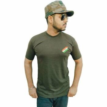 Indian Army Camaouflage Stylish T-shirt