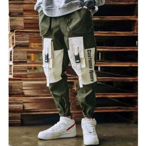 Stylish Trendy Men Track Pant Green 1