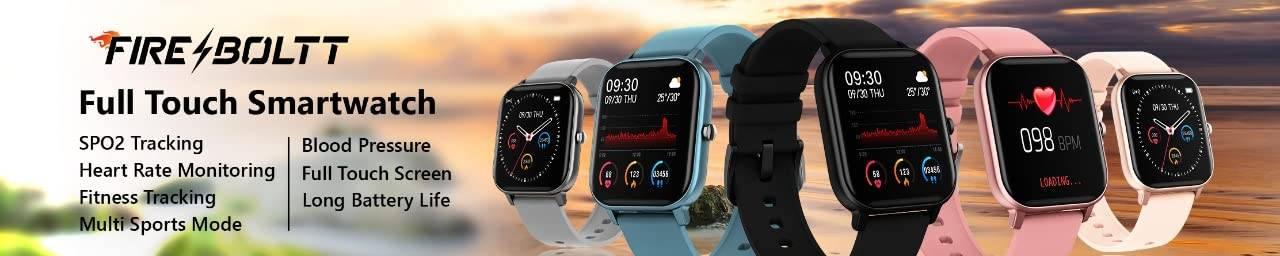fire boltt full touch smartwatch