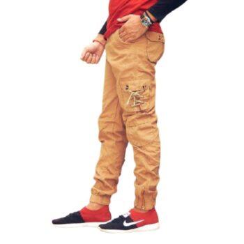 Fancy Trendy Men Cargo (Khakhi)