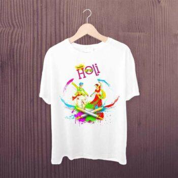 Happy Holi Bhangra Tshirt