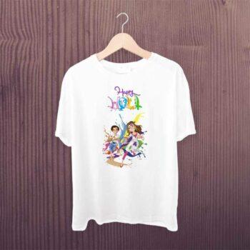 Happy Holi Dancing Tshirt