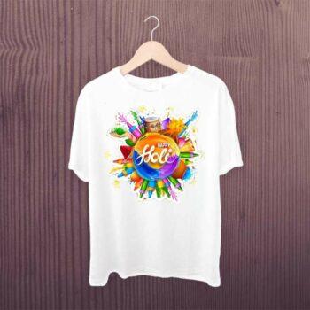 Happy Holi Dhol Pichkari Tshirt