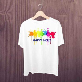 Happy Holi Gulaal Tshirt