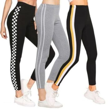 Women's Cotton Rib Jegging Combo Pack of 3