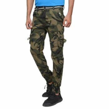 Army Commando Print Men Cargo Trouser