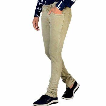Men Regular Fit Denim Jeans (Grey)