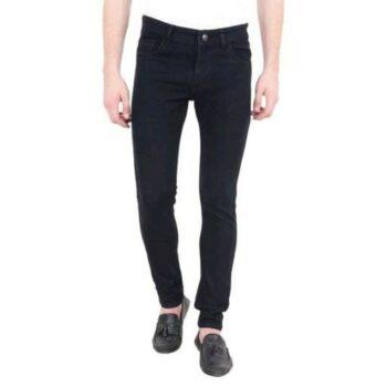 Men's Regular Fit Denim Jeans (Black)
