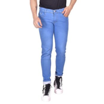 Men's Relaxed Fit Jeans (Blue)