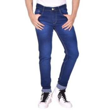 Men's Relaxed Fit Jeans (Navy Blue)