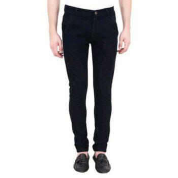 Men's Standard Black Denim Jeans