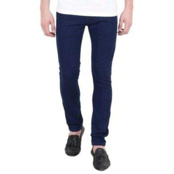 Men's Standard Denim Jeans (Navy Blue)