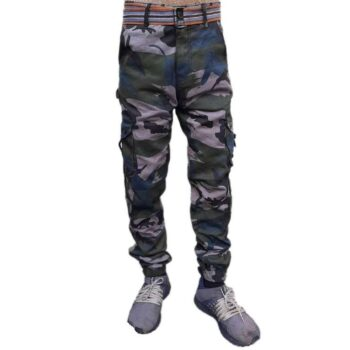 Military Print Army Cargo Pant for Men