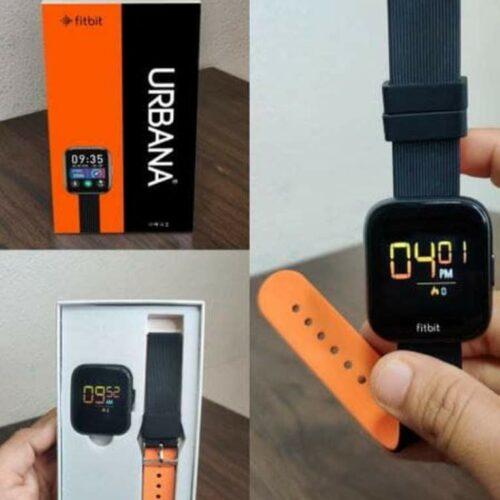 Fitbit Urbana Smart Watch (Orange)