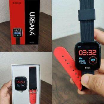 Fitbit Urbana Smart Watch (Red)