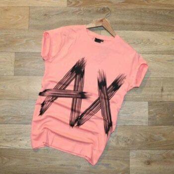 AX Pink Men's Classy Tshirt