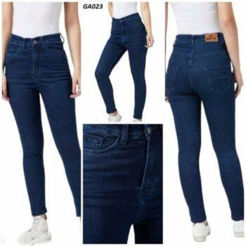 Blue Denim Skinny Fit Jeans For Women