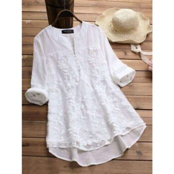 Embroidered Cotton Women Tops
