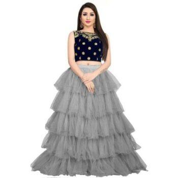 Fancy Net Women Lehenga