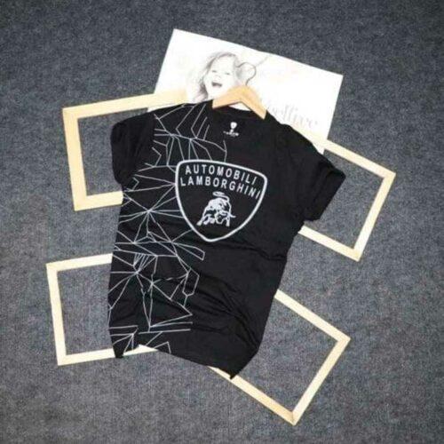 FeelFree Men's Tshirt Lamborghini Tshirt Black