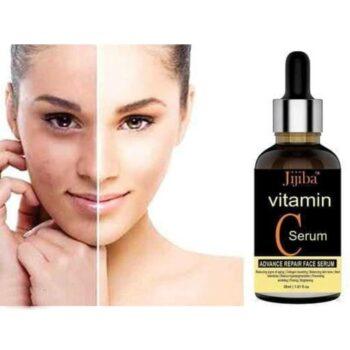 JIJIBA Vitamin C Face Serum For Skin Brightening, Skin Toning & Anti Ageing for Men and Women