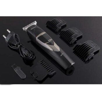 Kubra KB-2028 Cordless Rechargeable Professional Hair and Beard Trimmer For Men Runtime: 50 min Trimmer for Men (Black)