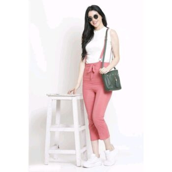 Latest Fashion Pink Dungaree for Comfortable Wear