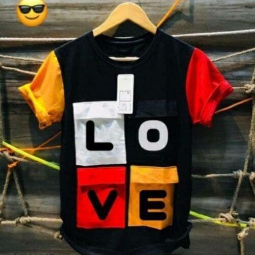 Love Tshirt for Men Black