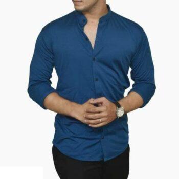 Lycra Shirt For Men - Blue