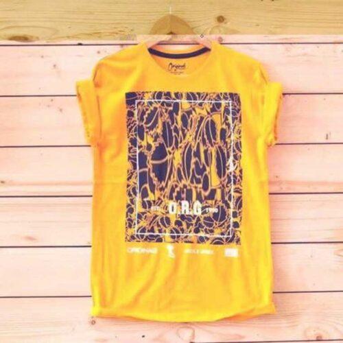 Men's Tshirt Classic Yellow