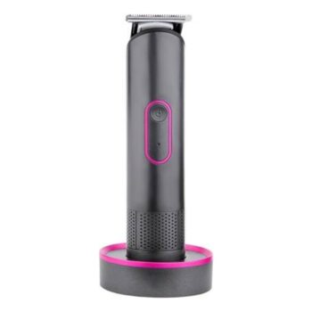 PRITECH pr-2888 IPX5 Washable Barber Hair Clippers Rechargeable Electric Hair Trimmer With LED Indicator Runtime: 60 min Trimmer for Men (Grey)