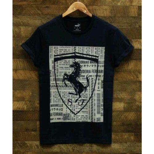 Puma Lamborghini Men's Tshirt Black