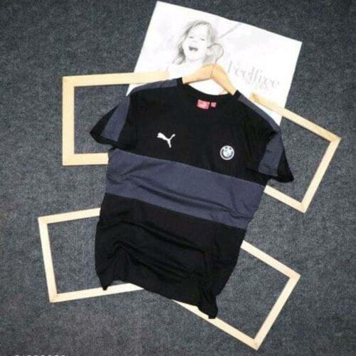 Puma Men's Tshirt Black Grey