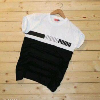 Puma Men's Tshirt White Black