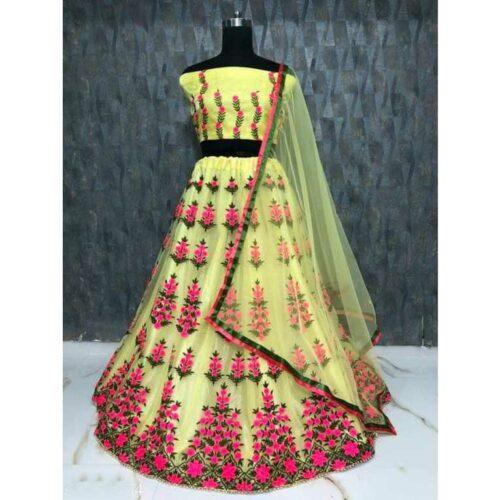 Stylish Fancy Women Lehenga