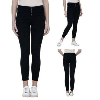 Stylish Women Jeans Black