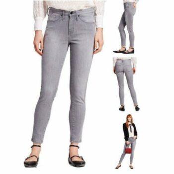 Stylish Women Jeans Grey