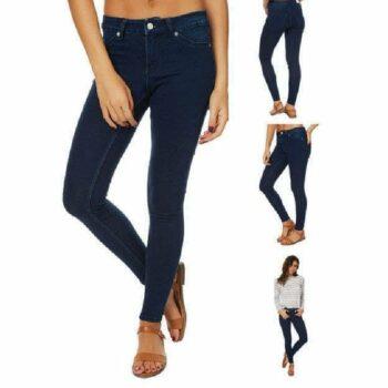 Stylish Women Jeans Navy Blue