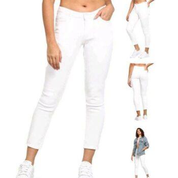 Stylish Women Jeans White