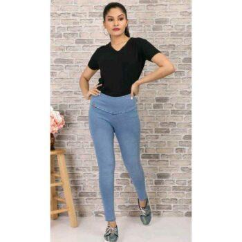 Stylish Women's Denim Jeans Blue
