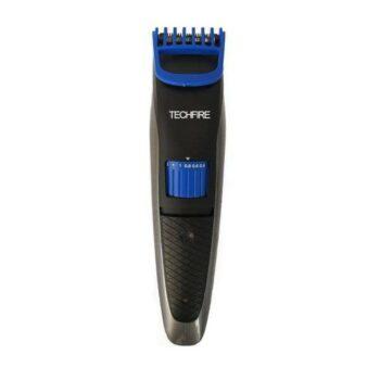 Techfire ns 2019 Rechargeble Ultra Sleek Beard Trimmer for Men Runtime 60 min Trimmer for Men (Blue)
