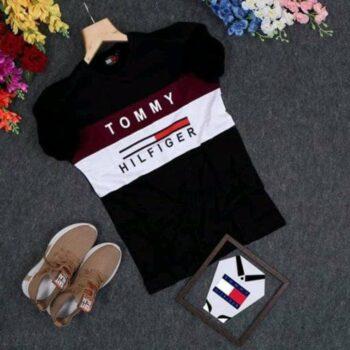 Tommy Hilfiger Men's Black Tshirt