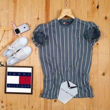 Tommy Hilfiger Men's Tshirt Grey